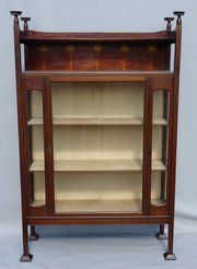 Arts Nouveau Shapland and Petter Display Cabinet