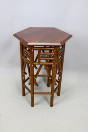 Arts & Crafts Bentwood Occasional Table