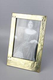 Arts & Crafts Brass Photo Frame Circa 1910