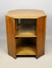Arts & Crafts Deco Oak Book Table Heals