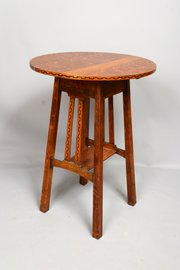 Arts & Crafts Heals Golden Oak Occasional Table