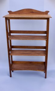 Arts & Crafts Oak Adjustable Bookcase circa 1910