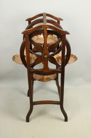 Arts & Crafts Rotating Cake Tea Stand c1910