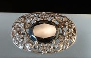 Arts & Crafts Silver Hematite Brooch Shipton & Co