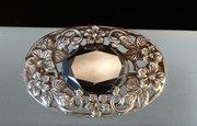Arts & Crafts Silver Hematite Brooch Shipton & Co
