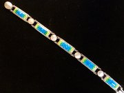 Arts & Crafts Silver and Enamel Bracelet c.1910