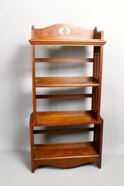 Arts and Craft Gothic Oak Bookcase