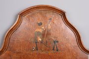 Arts and Crafts Liberty Inlaid Oak Mirror