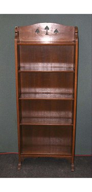 Arts and Crafts Liberty Oak Bookcase