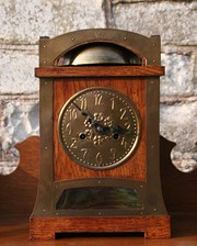 Arts and Crafts Liberty Style Mantel Clock