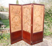 Arts and Crafts Morris Style Dressing Screen