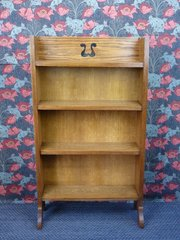 Arts and Crafts Oak Bookcase c1910