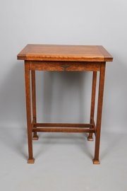Arts and Crafts Oak Folding Card / Writing Table