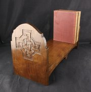 Celtic Arts & Crafts Oak Book Stand circa 1920