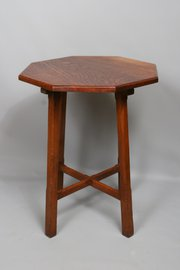 Cotswold Arts Crafts Oak Occasional Table