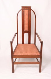 G.M Ellwood Art Nouveau Arm Chair