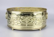Glasgow School Brass Planter Jardiniere 1910
