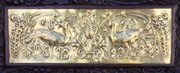 John Williams Arts Crafts Brass Wall Plaque c1900