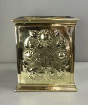 Large Arts & Crafts Brass Planter c1880