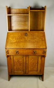 Liberty Arts & Crafts Oak Bureau, c1900