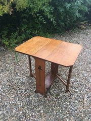 Liberty Arts and Crafts Oak Sutherland Table