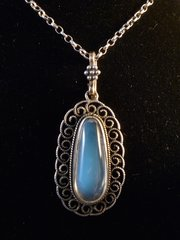Liberty Arts and Crafts Silver & Moonstone Pendant