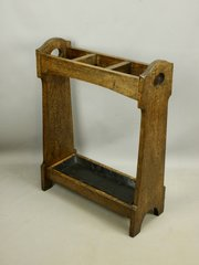 Liberty Oak Hearts Umbrella Stand c1900