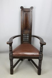Oak Liberty Wyburd Arts & Crafts Shakespeare Chair