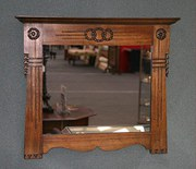 Pair of Arts and Crafts Glasgow School Mirrors