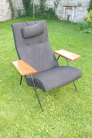 Rare Hille Robin Day Reclining Chair one of two
