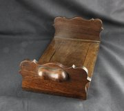 Rosewood Adjustable Book Trough circa 1880