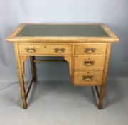 Shapland and Petter Arts & Crafts Oak Desk c1910