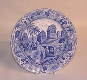 Spode Caramanian Pattern Pearlware Plate, c.1820