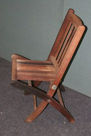Teak Garden Chair Timbers HMS Arethusa Crimean War