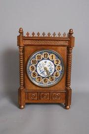 Victorian Aesthetic Movement Mantel Clock