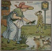Walter Crane Illustration The Baby's Opera 1900