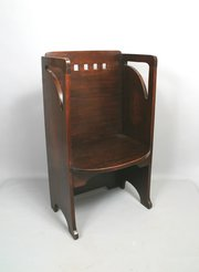 Wylie & Lochhead Glasgow School Arts & Crafts Hall Chair