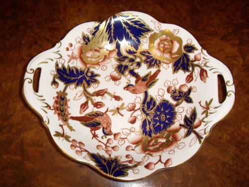 Coalport Dish With  Bird Design