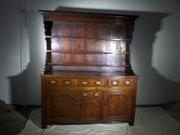 18th C Nth Wales oak dresser c1760  l 161cms