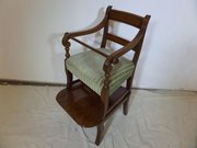 Antique 18thc Child,s high chair c1800