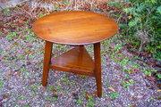 Antique Welsh 19c oak cricket table c1820