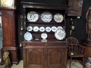 "E18THC Rare 50""l North Wales oak dresser c1720"