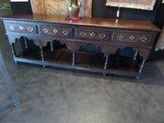 Rare 18c Oak Montgomery dresser base c1760