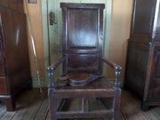 Scottish 17thc Birch Master,s Armchair c1660