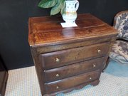 Small Welsh oak Chest of Drawers c1740 80cms