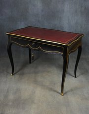 Ebonised French Empire Bureau Plat / Writing Table