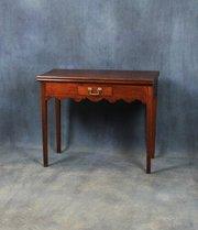George III Mahogany Tea Table