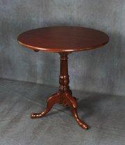George III Mahogany Tilt Top Table