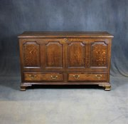 George II Oak Mule Chest