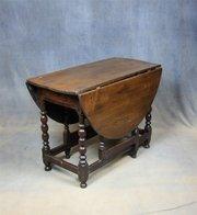 George I Oak Dining Table